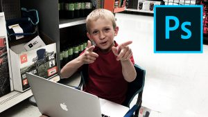 Photoshopping In WalMart